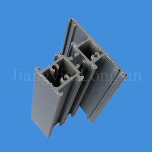 Grey Coating Aluminium Extrusion for Windows, Thermal Break