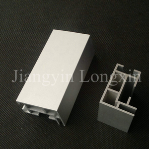 Silver Anodized Aluminum Profile for Exhibition