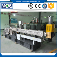 High Effeicent Filler Masterbatch Color Masterbatch Extruder Plastic Compound Machine