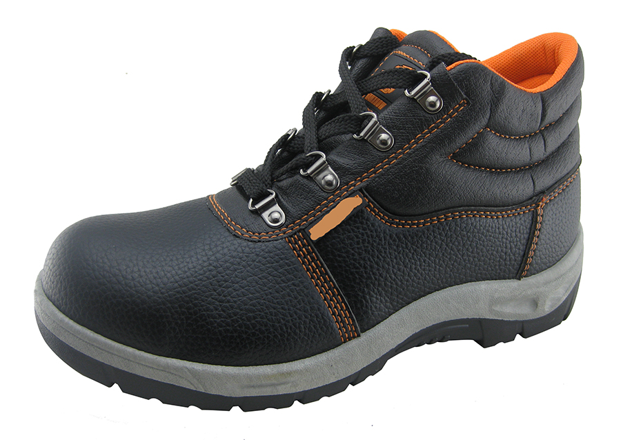 With steel toe and steel plate very cheap safety shoes