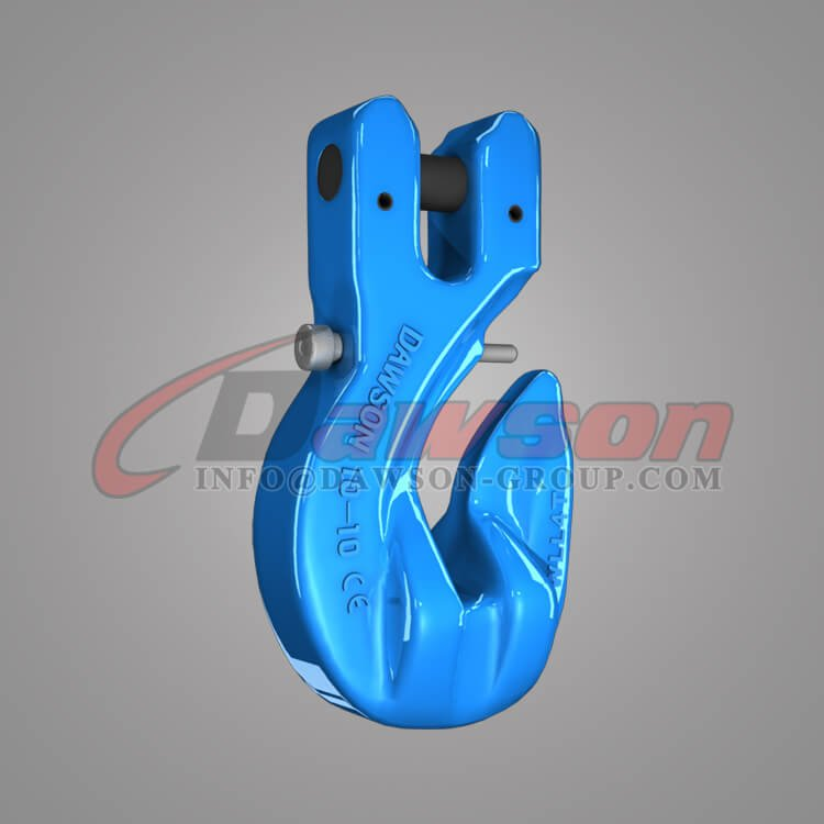 Grade 100 Special Clevis Grab Hook with Safety Pin, G100 Forged Steel Clevis Grab Hook for Chains - China Manufacturer, Supplier - Dawson Group Ltd.