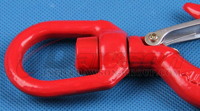 Grade 80 Swivel Hook with Safety Latch for Lifting