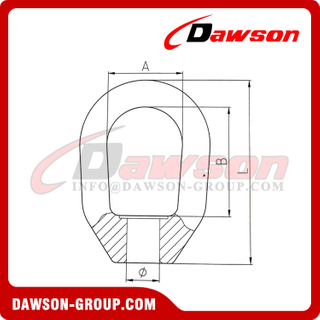 DS245 Forged Carbon Steel Swivel