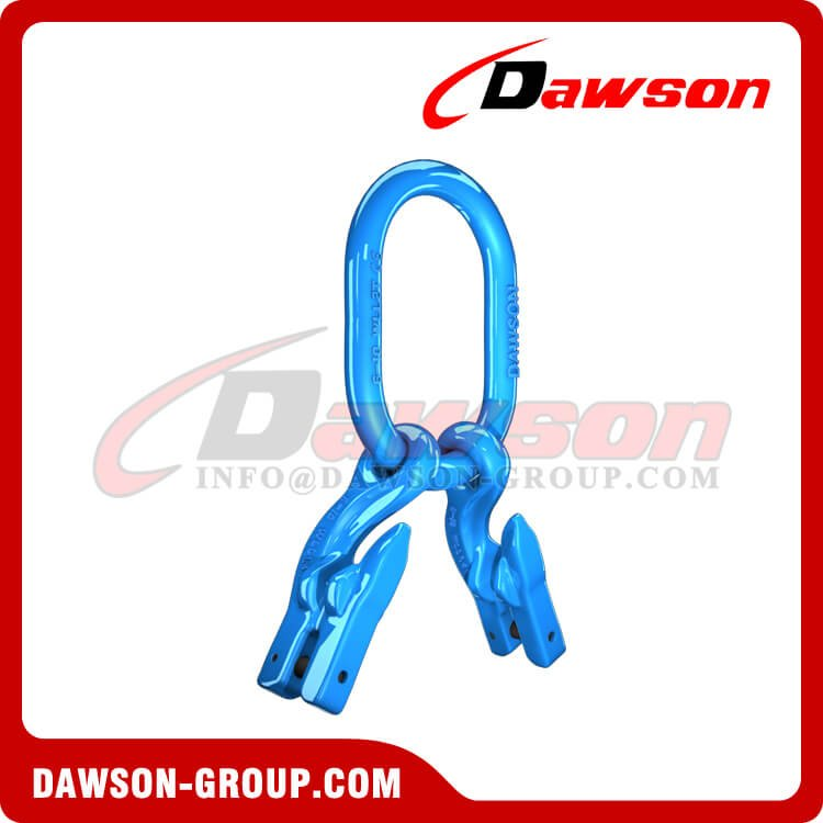 G100 Master Link + G100 Eye Grab Hook with Clevis Attachment × 2 - Dawson Group Ltd. - China Supplier, Factory