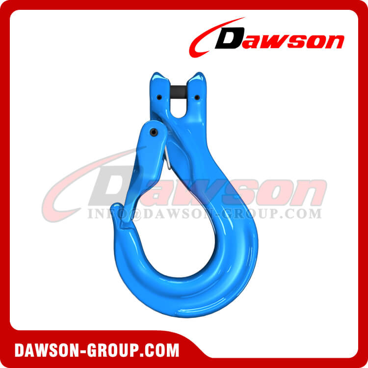 G100 Clevis Sling Hook with Cast Latch - Dawson Group - China Supplier, Factory