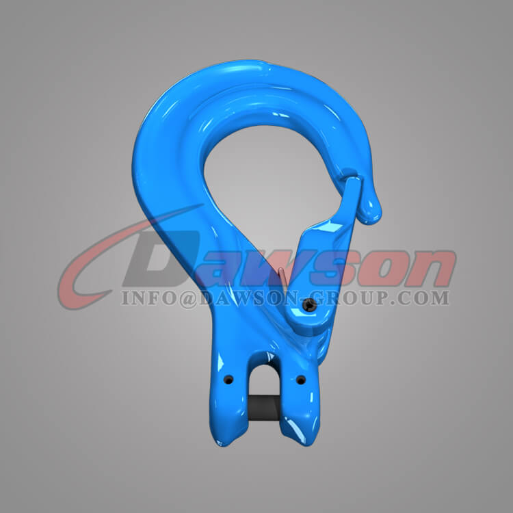 Grade 100 Clevis Sling Hook with Cast Latch - Dawson Group - China Supplier, Exporter