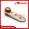 Long Canvas Runner with 2 Red Role with Bearing for Truck Trailer Parts