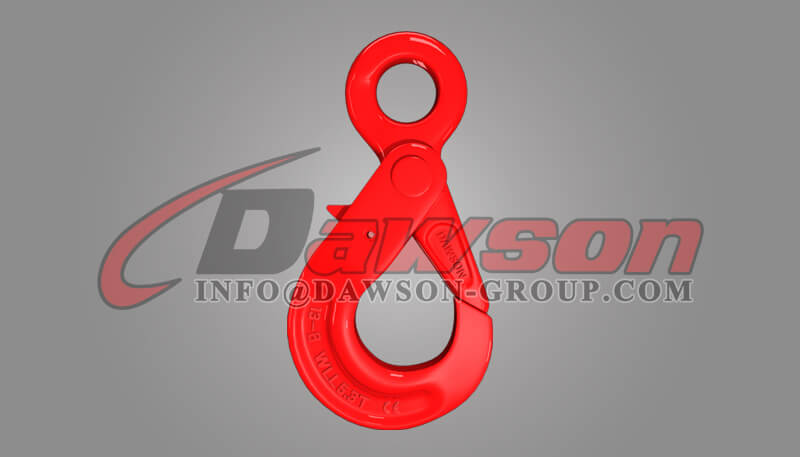 DS081 Grade 80 European Type Eye Selflock Hook for Crane Lifting Chain Slings - Dawson Group Ltd. - China Manufacturer, Factory