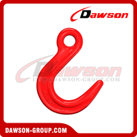 G80 / Grade 80 Alloy Eye Hook, Large Throat Opening Hooks for General Hoist