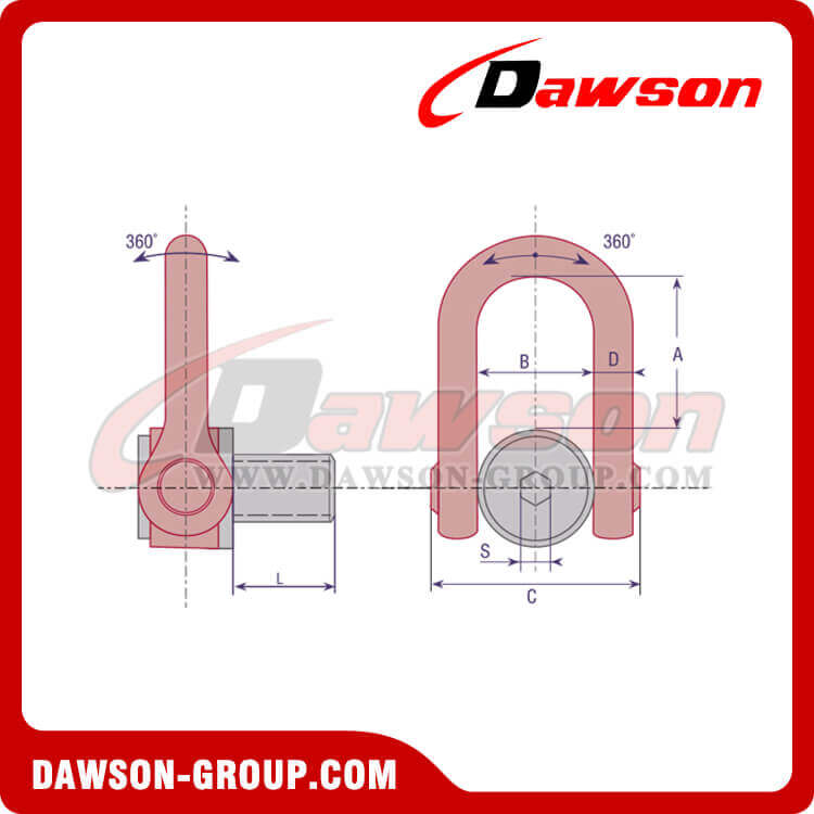 DS Swivel Hoist Ring - China Manufacturer Supplier