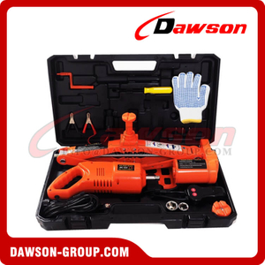 DC 12V 5T 52CM Electric Scissor Jack & Electric Wrench Suit
