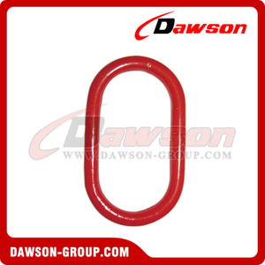 DS482 G80 Alloy Steel Master Link with Flat for Chain Slings / Wire Rope Slings