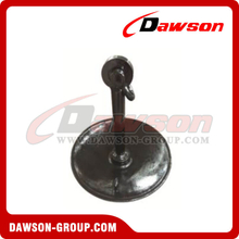 Black Bitumen Paint Mushroom Anchor