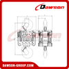 DS-DF-D 100T Chain Hoist, 100000kg Heavy Duty Chain Block for Lifting