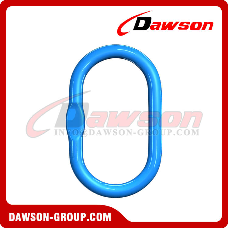 G100 Forged Master Link, Grade 100 Alloy Steel Master Link for Chain Slings - Dawson Group Ltd. - China Factory