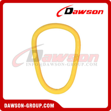 G80 / Grade 80 Forged Alloy Steel Pear Type Master Link for Steel Wire Rope Sling / Chain Slings