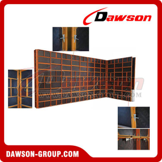 Construction metal concrete formwork / panel scaffolding