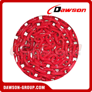Grade 100 D-Shape Forestry Chain, G100 Welded Link Chain, G100 Square Link Chain