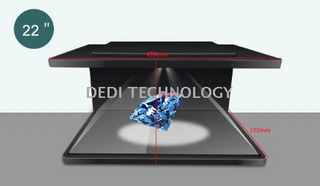 "270 degree 3D Hologram Advertising Display with 22""/32""/42""/46""/50""/70"""