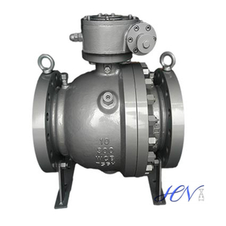 Fire Safe Carbon Steel Trunnion Mounted Ball Valve