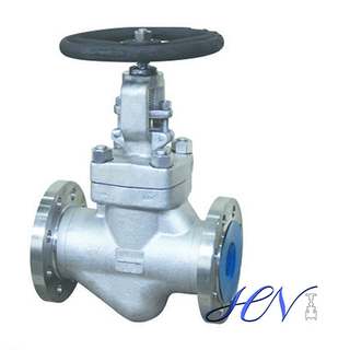 Forged Stainless Steel Flanged Handwheel Globe Valve
