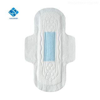 Ultra Slim Women Day and night Use Normal Flow Sanitary Pads Menstrual Sanitary Pads with blue chips