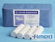 Medical 100% Cotton Absorbent W.o.w. Gauze Bandage