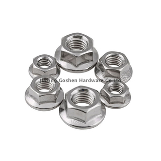 ANSI/ASME B 18.16.4 stainless steel flange head lock nuts fastenal