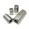 m10 metric stainless steel round coupling lock nut