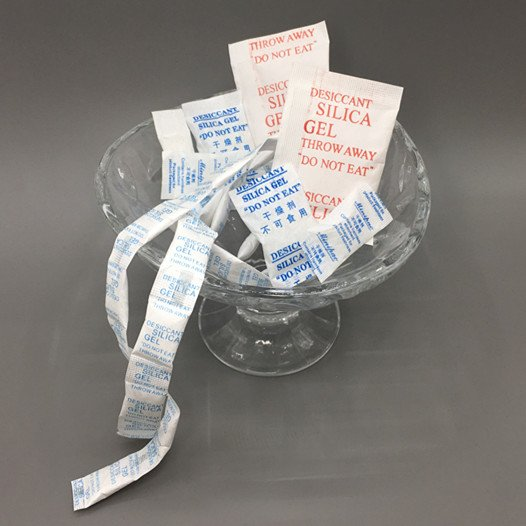 Silica gel for packing