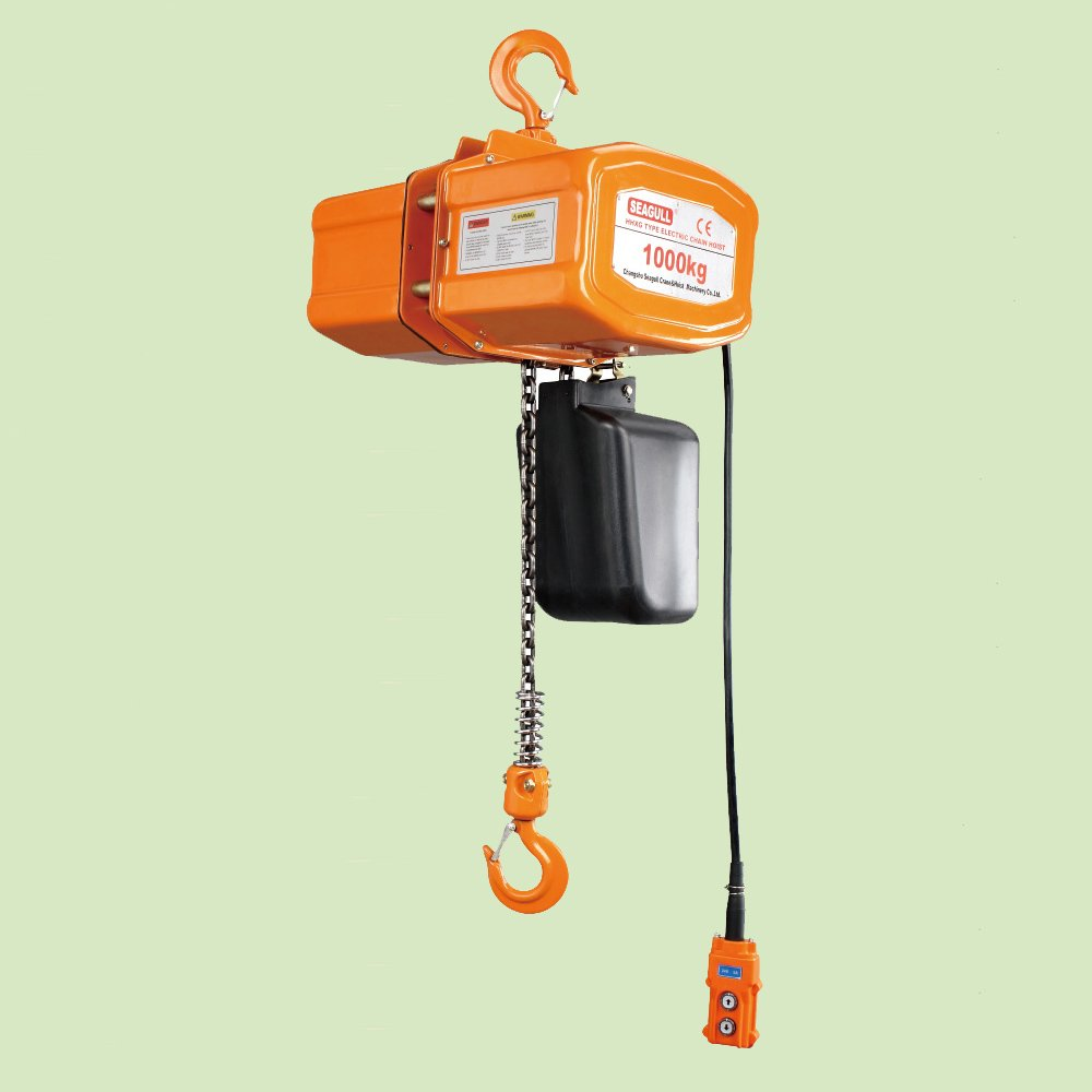 SUSPENDED TYPE THREE PHASE ELECTRIC CHAIN HOIST