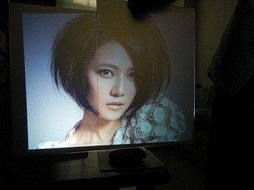 Dark Gray Rear Projection Film For Shop Window Advertising