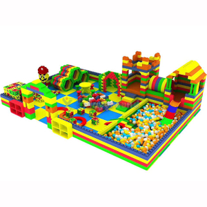 Amusement Park Soft Building Blocks Toddler Indoor Play Yard