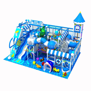 Ocean Theme Amusement Park Indoor Kids Soft Play Structure for sale