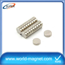 Strong Industrial Permanent disc neodymium magnet