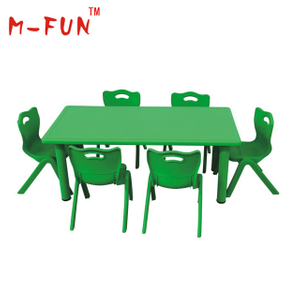 Plastic table and chair for kids