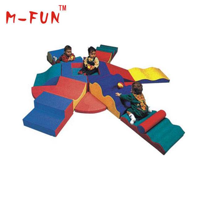 Magnetic soft play toys