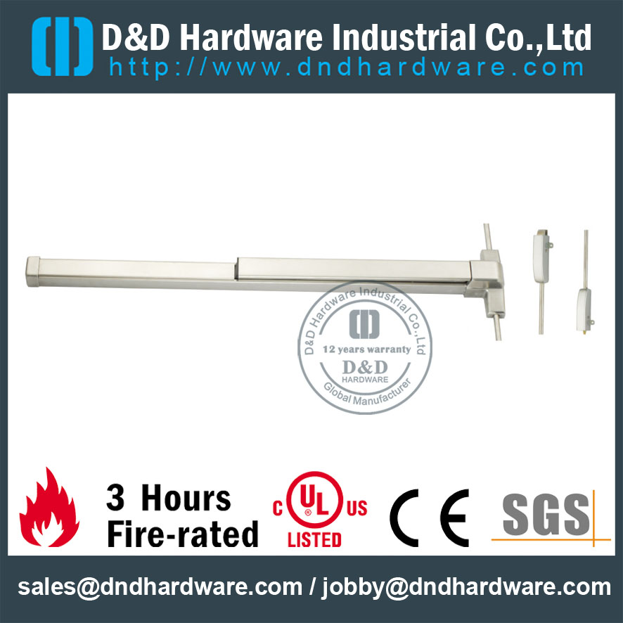 Double-leaf Fire Door Solutions DDPD004-D&D Hardware