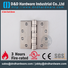 DDSS002-4.5x4.5x4.6mm-SUS201 Modern UL Fire Rated 4 Ball Bearing Hinge for Metal Door