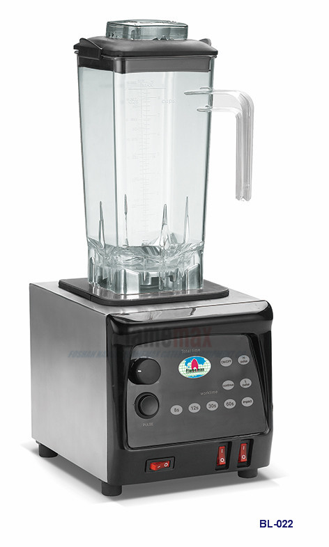 BL-022 Highly Effective Power Motor Stainless Blender-Flamemax