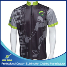 Custom Made Sublimation Printing Bowling Clothing