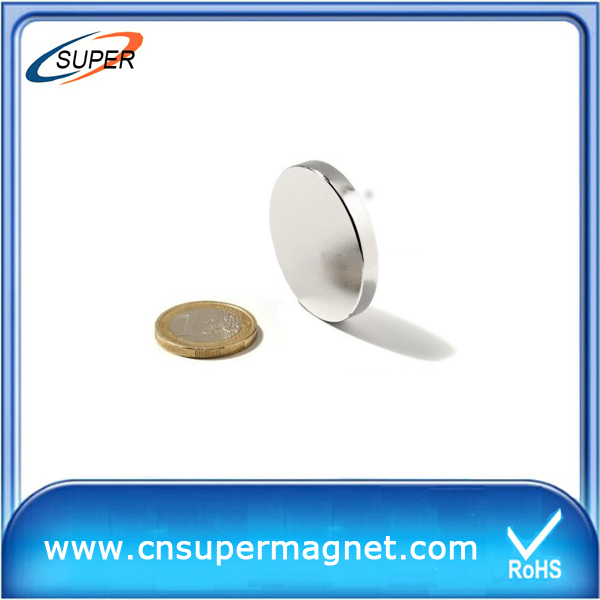 2015 China disc ndfeb magnet N48 price /china ndfeb magnet manufacture