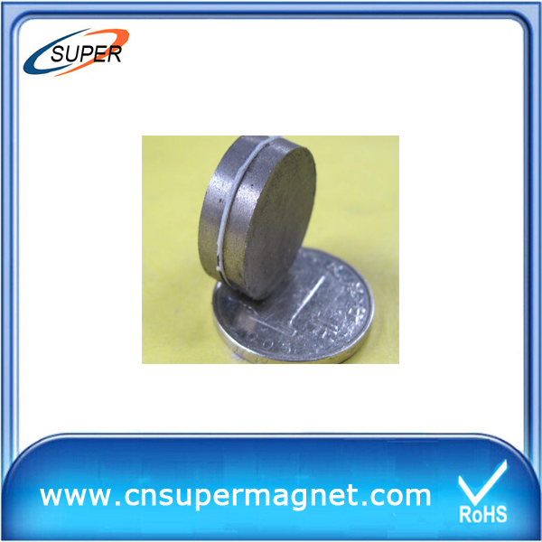 Hottest sale D12*3mm Sintered SmCo Magnet