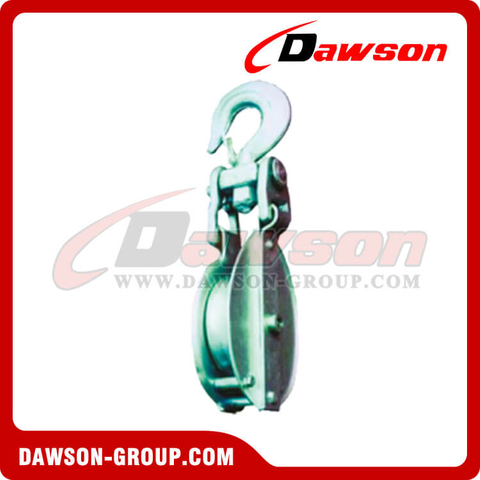 DS-B005 Snatch Block With Hook Self-Locking For Manila Rope