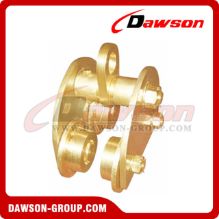 Explosion-proof Trolley / Aluminum Bronze Alloy Pull type Trolley For Chain Hoist