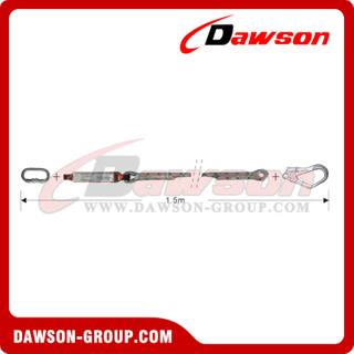 DS6103 Energy Absorbers Lanyards​ Safety Lanyards EN355 EN354