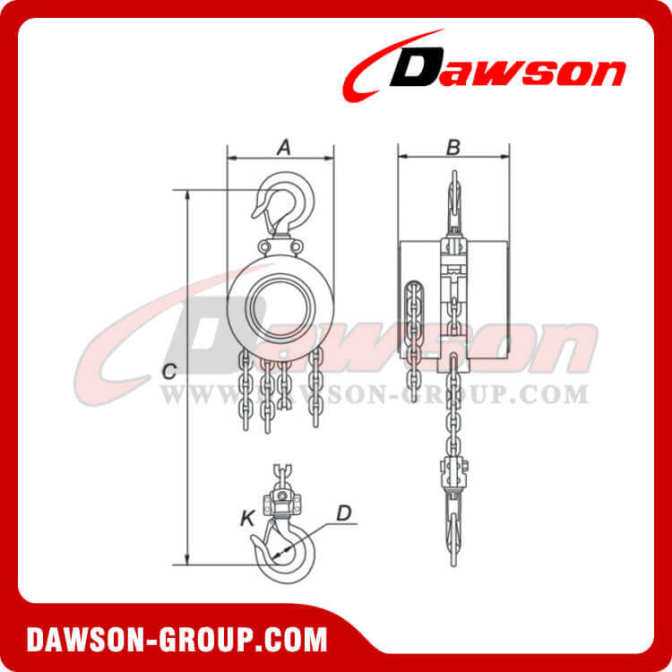 DSEP-A Chain Block DAWSON GROUP