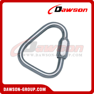 Stainless Steel Delta Shaped Quick Link