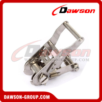 DSRB25151SS B/S 1500KG/3300LBS Stainless Steel Ratchet Buckle