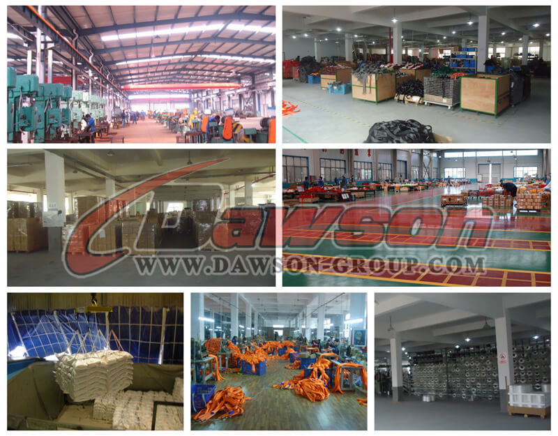 China Cargo Lashing Strap with Wire Hooks Dawson Factory